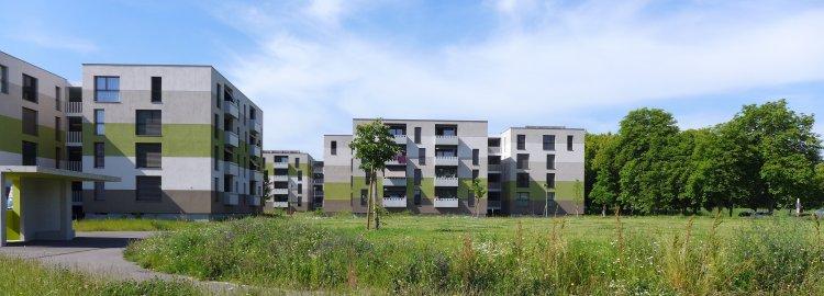 Quartier d'habitations à Vessy